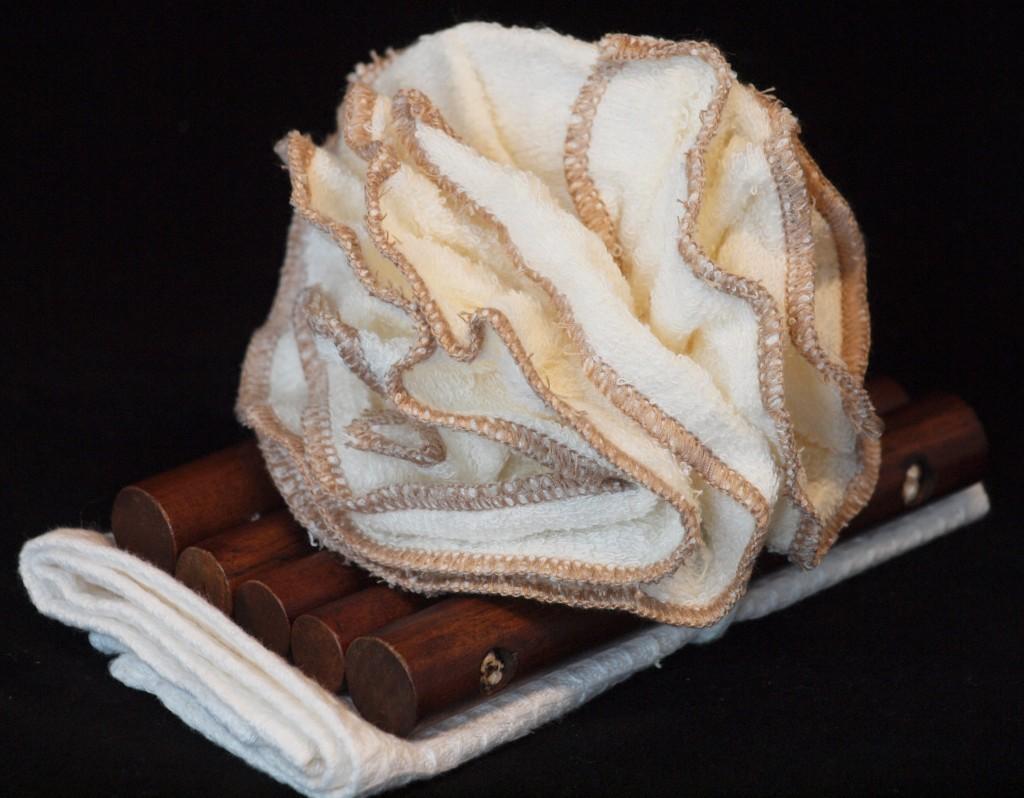 zeepmat met badbloem
