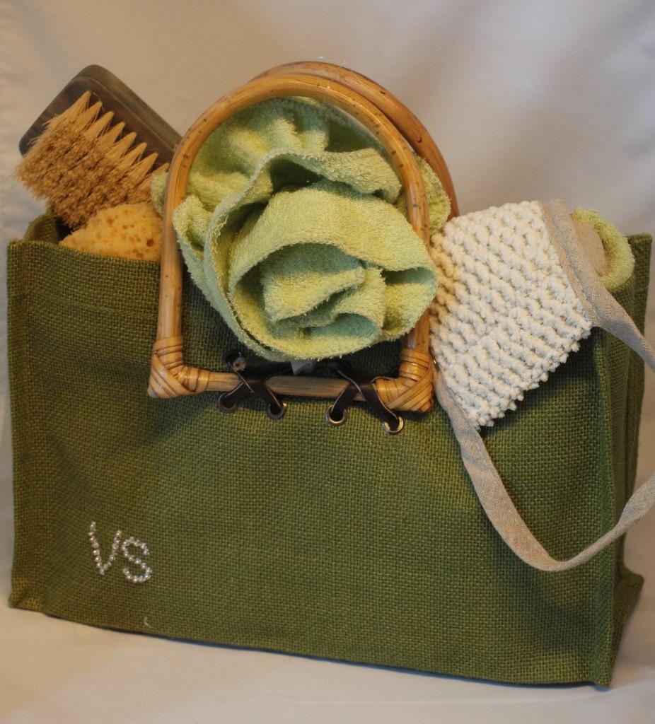 Badtas groene badroos
